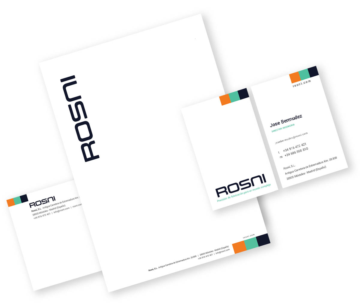 Rosni business cards
